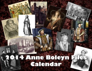 2014 Anne Boleyn Files Calendar