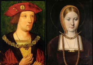 Arthur Tudor and Catherine of Aragon