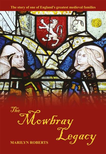 The lady on the left is Anne Mowbray's mother, Elizabeth Talbot, 4th Mowbray Duchess of Norfolk. Facing her is Elizabeth Tilney Countess of Surrey, first wife of Thomas Howard and grandmother of Anne Boleyn and Katherine Howard