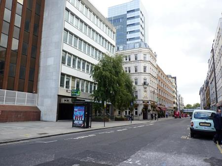 The street called Minories lies to the north of the Tower; Anne Mowbray's coffin was found behind these buildings in 1964.