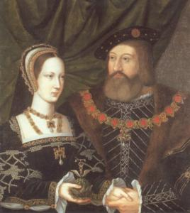 Charles Brandon, Duke of Suffolk, and Mary Tudor, Queen of France