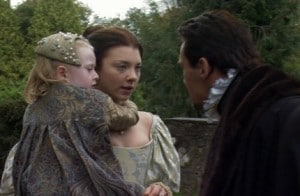 "The argument scene from ""The Tudors"" series."