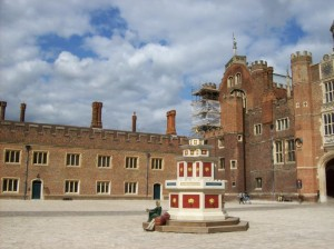 Hampton Court Palace, where some of the alleged offences were said to have been committed.