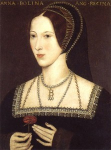 Anne Boleyn With Rose