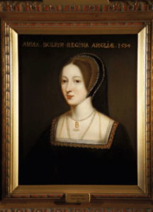 Hever Castle Interior Anne Portrait