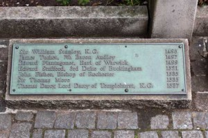 Tower Hill plaque