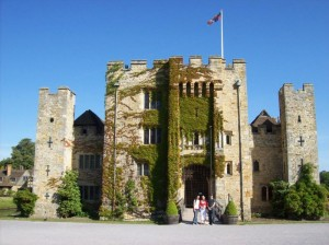 Hever Castle, the place Anne knew as home.