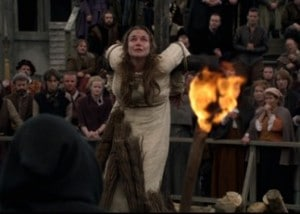 Emma Stansfield as Anne Askew in The Tudors