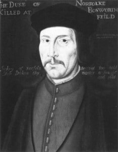 John Howard, 1st Duke of Norfolk, great-grandfather of Anne Boleyn