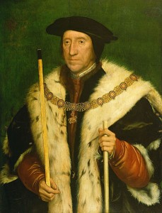 Thomas Howard, 3rd Duke of Norfolk, and the leader of the men.