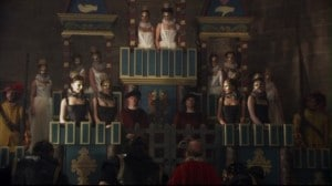 Chateau Vert pageant in The Tudors series