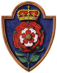 Katherine Howard's badge, designed by Weidenfeld and Nicolson
