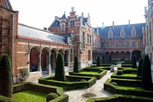 Inner Courtyard of Margaret of Austria's palace at Mechelen