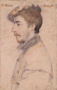 Nicholas Poyntz by Hans Holbein the Younger