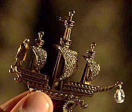 The ship jewel as depicted in The Tudors series