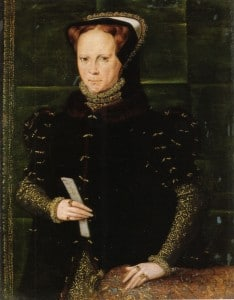 Mary I, Hans Eworth