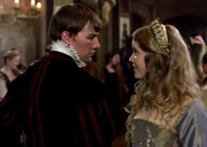 "Culpeper and Catherine in ""The Tudors"""
