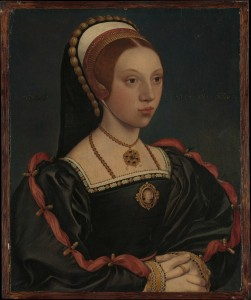 Portrait of an unknown woman, possibly Catherine Howard