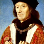 9 May 1509 - Henry VII's body was taken to St Paul's