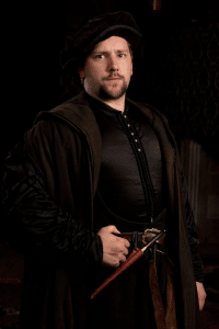 Joss Porter as Richard Cromwell in BBC 2'S Wolf Hall