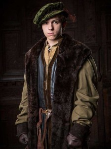 Fig. 1: Tom Holland as Gregory Cromwell