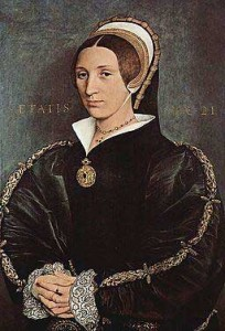 Fig. 2: Woman thought to be Elizabeth Seymour, Hans Holbein the Younger, c. 1535-40