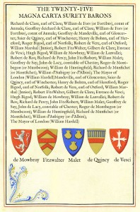 The Twenty-Five Magna Carta Surety Barons