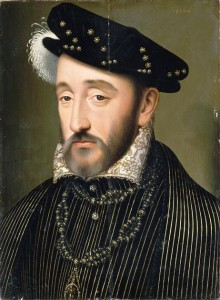 Henry II of France by François Clouet