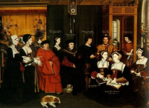 Thomas More and his family