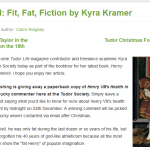 Henry VIII's weight and health, plus giveaway