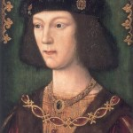 A young Henry VIII.