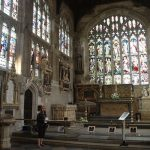 William Shakespeare's resting place in Stratford-upon-Avon