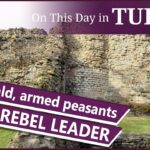 21 October – Lancaster Herald's encounter with rebels and Henry VIII's time at the French court.